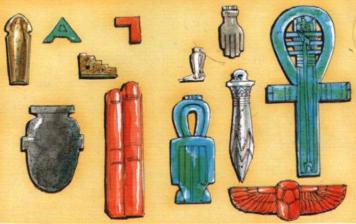 Cours 1.1  La Magie dans l'Egypte Antique Amulette